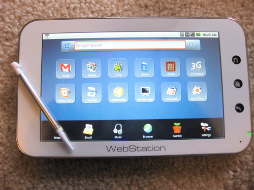 Camangi Webstation with Stylus