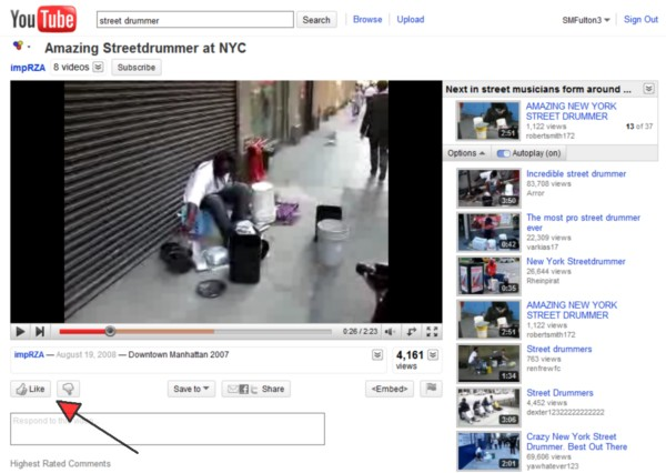 The 'Like' button on YouTube is more than just a Favorites list -- it can publish your likes to Facebook.