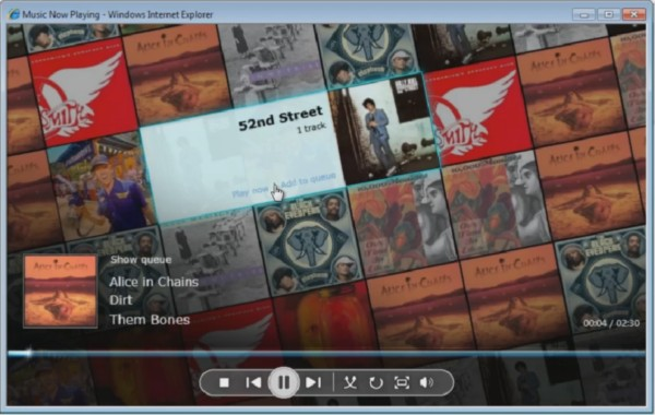 """When you stream your music libraries anywhere in the world using Windows Home Server """"Vail,"""" the Silverlight app makes it into a real experience."""