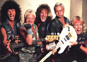 Accept,  the metal band that arguably caused a brief Twitter meltdown