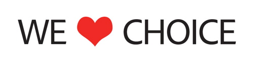 "Adobe says ""We <3 choice!"""