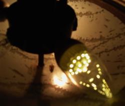 E12 with LED bulb