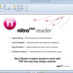 The new, free Nitro PDF Reader