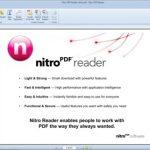 The new, free Nitro PDF Reader