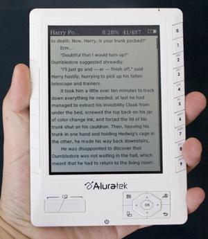 Aluratek Libre e-Reader