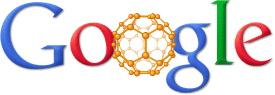 Google's Buckyball logo Sept 4