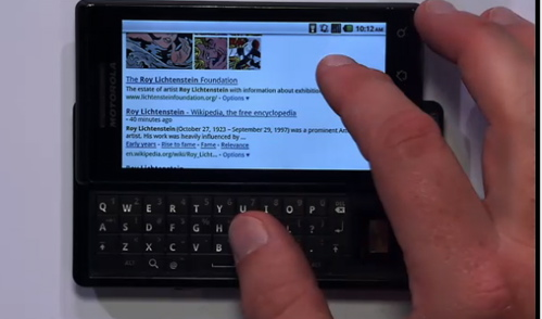 Google Instant on Mobile