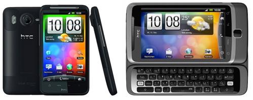 HTC Desire HD, Desire Z