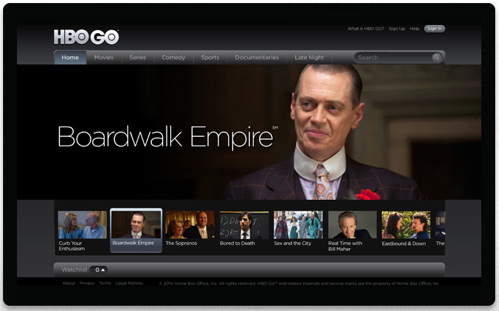 HBO GO on Google TV