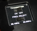 Crosley Revolution FM transmitter settings