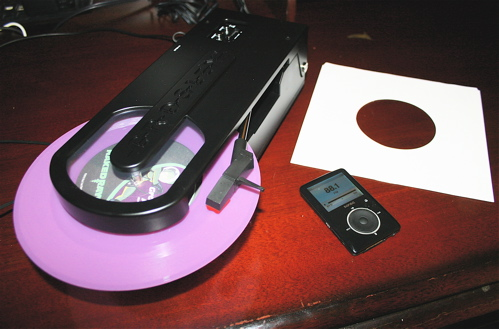 Ripping Vinyl wirelessly with Crosley Revolution and Sansa Fuze