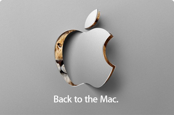 Back to the Mac October 20, 2010