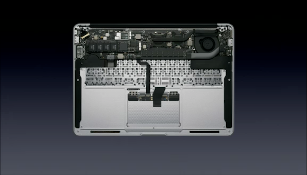 MacBook Air inards