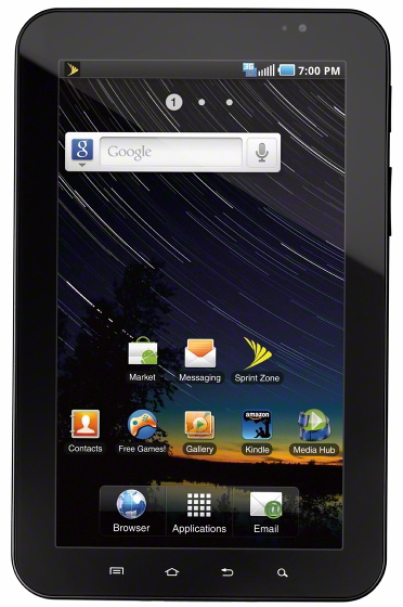Samsung Galaxy Tab on Sprint