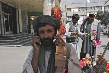Kabul, Afghanistan. Source: GSMA & Decisive Media. Photographer: Nilab Habibi.