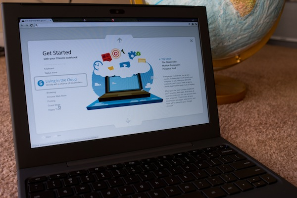 A week with Google's Chrome OS laptop, Day 1: Getting acquainted