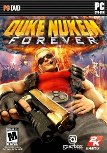 Duke Nukem Forever finally gets released, PC DVD box