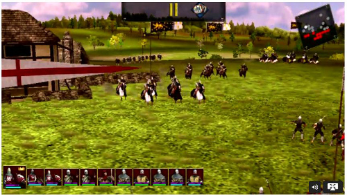 Android Honeycomb- Great Battles: Medieval