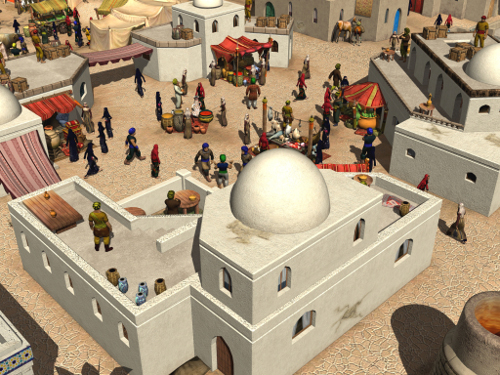 Arabian Lords, PC Game by Quirkat and Breakaway