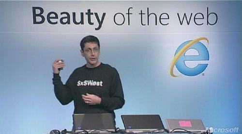 Microsoft's Dean Hachamovich at SXSWi