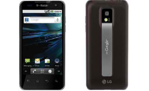 T-Mobile G2x from LG
