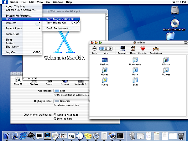 Mac OS X 10.0