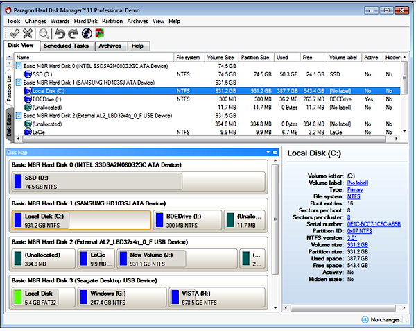 Paragon Hard Disk Manager 11