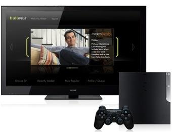 PSN Hulu Plus