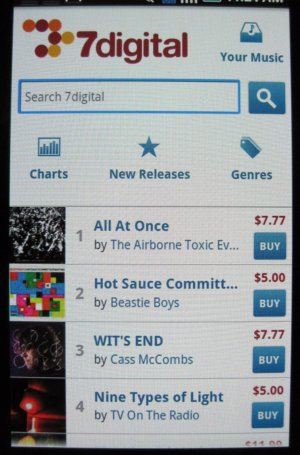 7digital steps up to Amazon, opens Android MP3 store