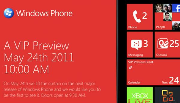 Windows Phone VIP event
