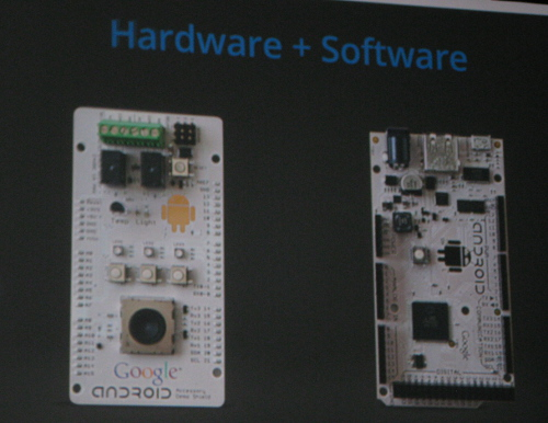 Arduino-based reference board for Android Hardware ADK