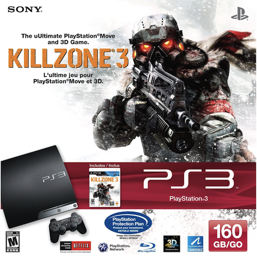 PS3 KillZone 3 Bundle