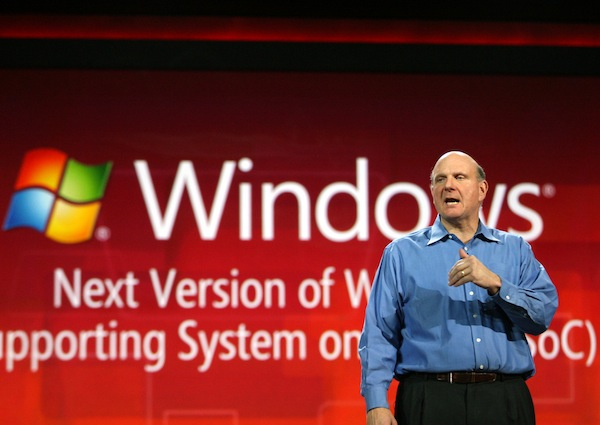 Steve Ballmer annonces Windows for ARM
