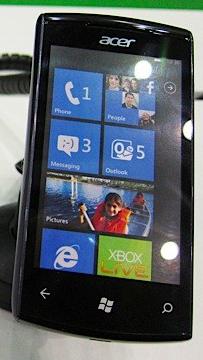 Acer W4 photo property of Engadget.com
