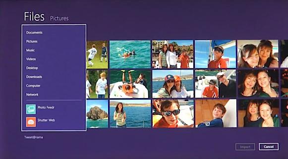 Windows 8 files