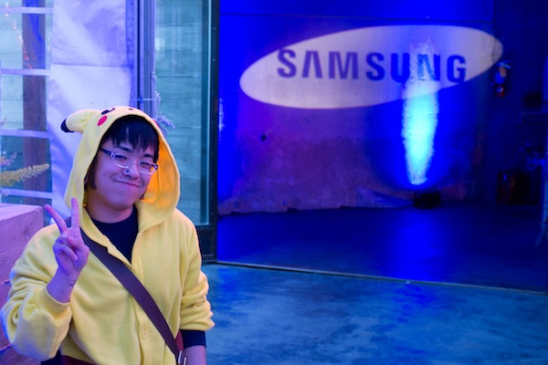 Gaget Geek at Samsung event