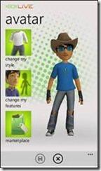 Xbox Live Avatar Windows Phone