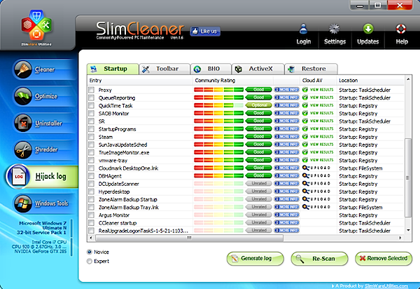 SlimCleaner