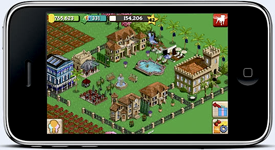 FarmVille on iPhone