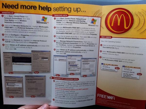 McDonalds WiFi