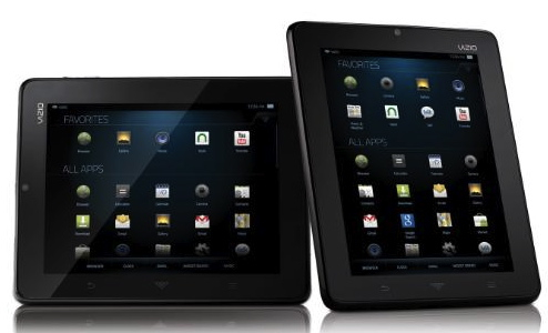 Vizio's Android tablet is the first with Hulu Plus