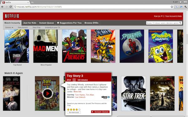 Crimey, I can watch Netflix on Chromebook