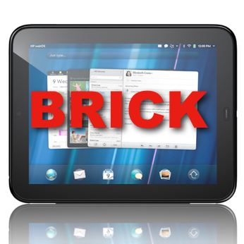 TouchPad Brick