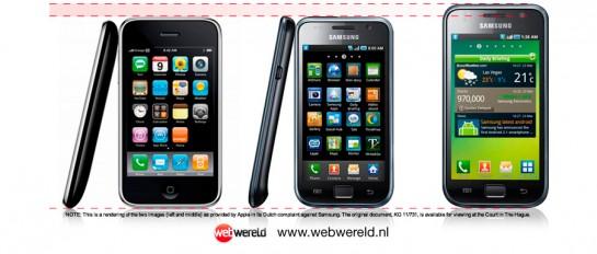 iPhone vs. Samsung Galaxy S